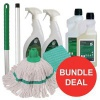 Kitchen Cleaning Bundle with Mop/Cloths/Cleaning Fluids [Bundle Offer]