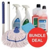 General Cleaning Bundle with Mop/Cloths/Cleaning Fluids [Bundle Offer]
