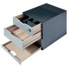 Durable Coffee Point Box with Integrated Lock Charcoal Ref 338558 [FREE Coffee Sticks] Jan-Mar 2017