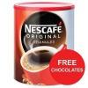 Nescafe Original Instant Coffee Granules Tin 750g Ref 12283921 [x2 & FREE Kit-Kats] Apr-Jun 2017