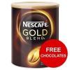 Nescafe Gold Blend Instant Coffee Tin 750g Ref 12284102 [x2 & FREE Kit-Kats] Apr-Jun 2017