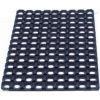 Floortex Door Mat Indoor and Outdoor Rubber 600mmx800mm Black *2017 Mailer*