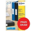 Avery Filing Labels Laser for Ring Binder Ref L7172-25 [450 Labels] [Competition Offer] Jul-Sep 2017