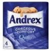 Andrex Toilet Rolls 3-Ply Quilted White Ref M01385 [Pack 4]