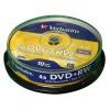 Verbatim DVDplusRW Spindle PK10 43488