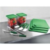 Rubbermaid Food Service Kit 12 Piece Colour-coded Green