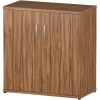 Trexus Office Cupboard 800mm 1 Shelves Walnut