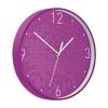 Leitz WOW Wall Clock 290x290x43mm Purple Ref 90150062