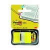 Post-it Index Tabs 25mm Yellow (Pack of 600) 680-5