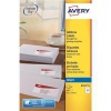 Avery Quick DRY Addressing Labels Inkjet 16 per Sheet 99.1x33.9mm White Ref J8162-25 [400 Labels]