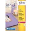 Avery Addressing Labels Colour Laser 8 per Sheet 99.1x67.7mm Ref L7765-40 [320 Labels]