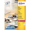 Avery CD/DVD Labels Laser Colour 2 per Sheet Dia.117mm DVD-safe Matt White Ref L7776-25 [50 Labels]