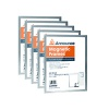 Announce Magnetic Frames A3 Silver (Pack of 5) AA01844
