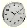 Acctim Supervisor Wall Clock 320mm Chrome/White 21027