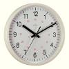 Acctim Metro 24 Hour Plastic Wall Clock 355mm White 21202