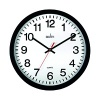 Acctim Controller Silent Sweep Wall Clock 368mm Black 93/704B