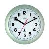 Acctim Parona Radio Controlled Plastic Wall Clock Silver 74317