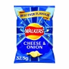 Walkers Cheese and Onion Crisps 32.5g (Pack of 32) 121796
