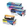 Brother TN325 Toner Cartridge Bundle Cyan/Magenta/Yellow/Black (Pack of 4) BA810619