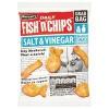 Burtons Fish n Chips Salt and Vinegar 40g 16264