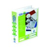 Elba Panorama 50mm 4 D-Ring Pres Binder A4 Wht (Pack of 10) 400001309