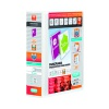 Elba Panorama 65mm 4 D-Ring Pres Binder A4 White (Pack of 4) 400008673