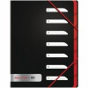Black n Red 7-Part Folder Polypropylene A4 400051534