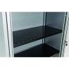 Bisley Black Slotted Shelf BSSGY