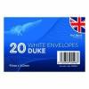 Duke Envelopes x 20 White (Pack of 24) OBS067