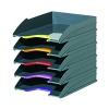 Durable Varicolor Letter Tray Assorted (Pack of 5) 770557