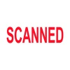 COLOP Green Line Word Stamp SCANNED Red (Impressions size: 38 x 14mm) P20GLSCA