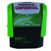 COLOP Green Line Word Stamp PRIVATE & CONFIDENTIAL Red P20GLPRI