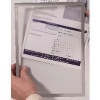 Franken Magnetic Document Holder A4 Grey (Pack of 5) ITSA4M/5 12