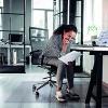 Cleartex PVC Chair Mat Carpet Rectangular 1210x1520mm Clear 1115225EV