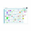 Exacompta Magnetic Perpetual Year Planner (Comes with magnets, magnet strips, pens and box) 56153E