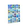 Safco 24 Pocket Deluxe Pamphlet Literature Rack 5600VL