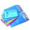 Rapesco Foolscap Popper Wallet Bright (Pack of 20) 1494
