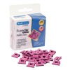 Rapesco Supaclip 40 Refills Hot Pink Hearts 1334