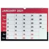 Monthly Calendar A3 Wirebound 2021 KFYC2321