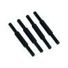 Avery Letter Risers 75mm Plastic Black (Pack of 4) 403