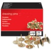 Select Drawing Pins Brass (150)