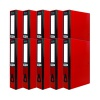 Pukka Brights Box File Foolscap Red (Pack of 10) BR-7774