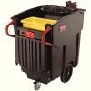 Rubbermaid Mega Brute Mobile Waste Collector 450 Litre Black 9W71-00-BLA