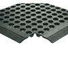 Black Rubber Worksafe Mat (900 x 1500mm, 16mm Thickness) 312475
