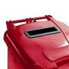 Confidential Waste Wheelie Bin 360 Litre Red 377910