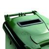 Confidential Waste Wheelie Bin 360 Litre Green 377917