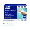 Tork Xpress Interfold Hand Towel H2 White 110 Sheets (Pack of 21) 100288