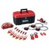 Lockout Toolbox 23 Piece Kit - Valve & Electrical