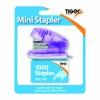 Tiger Mini 26/6 Stapler including 1000 Staples (Pack of 6) 301506