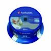 Verbatim BD-R Printable Spindle 6x 25GB (Pack of 25) 43811